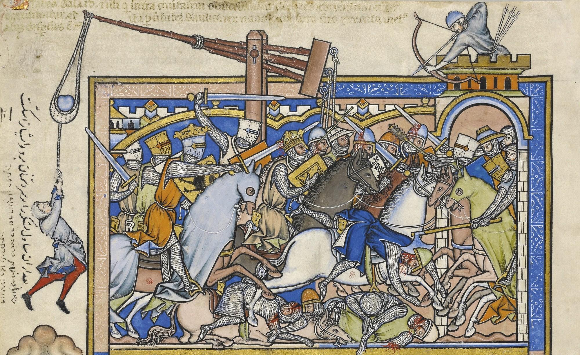 Bible Maciejowski, feuillet 23, vers 1250.