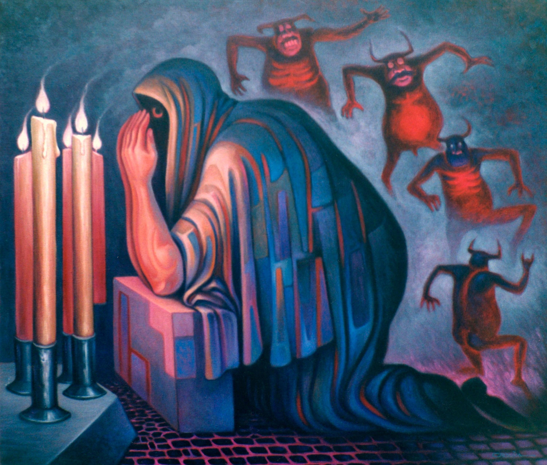 Carlos Orduña, La mocha, 2000.
