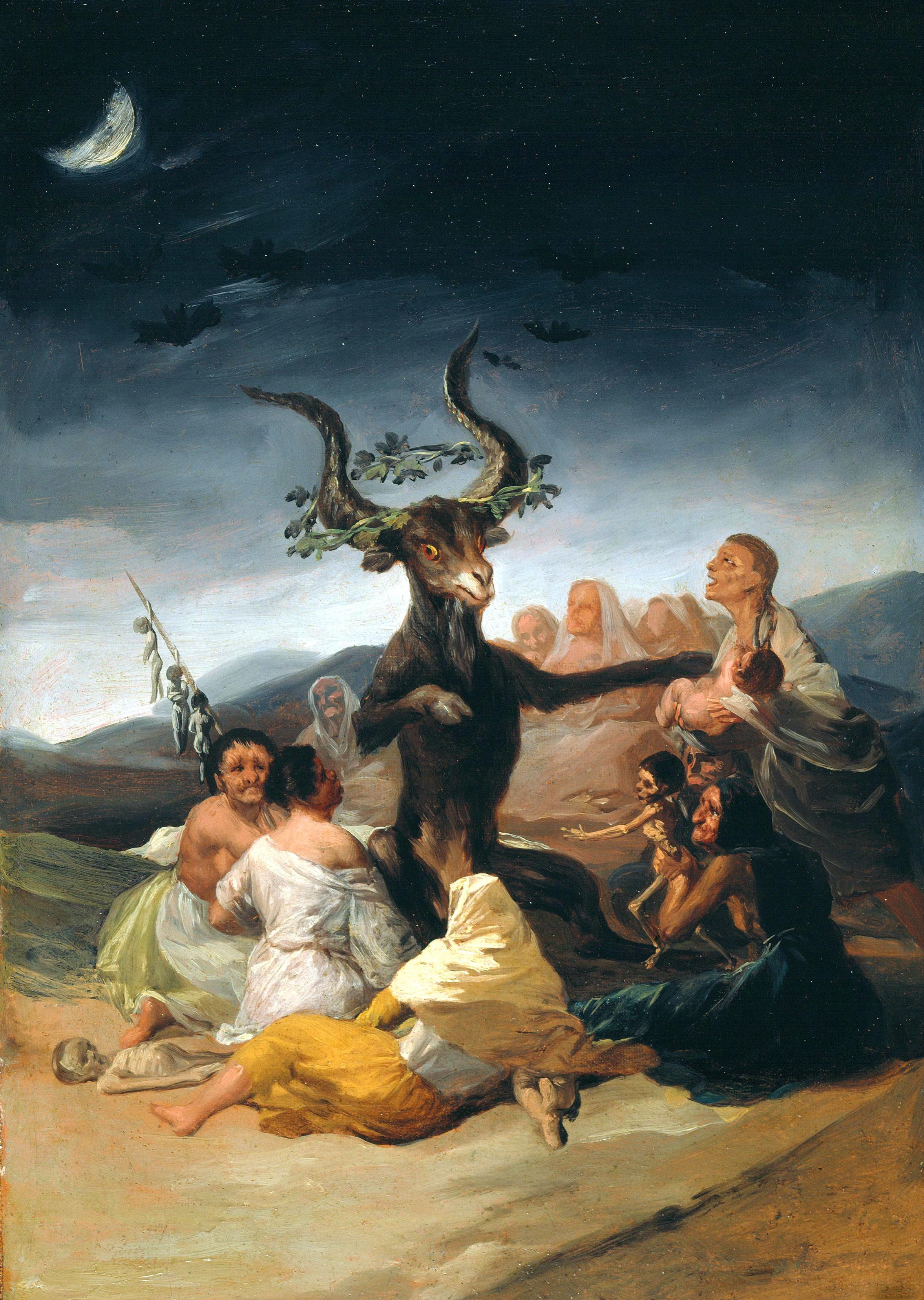Francisco de Goya, El Aquelarre, 1797-98.