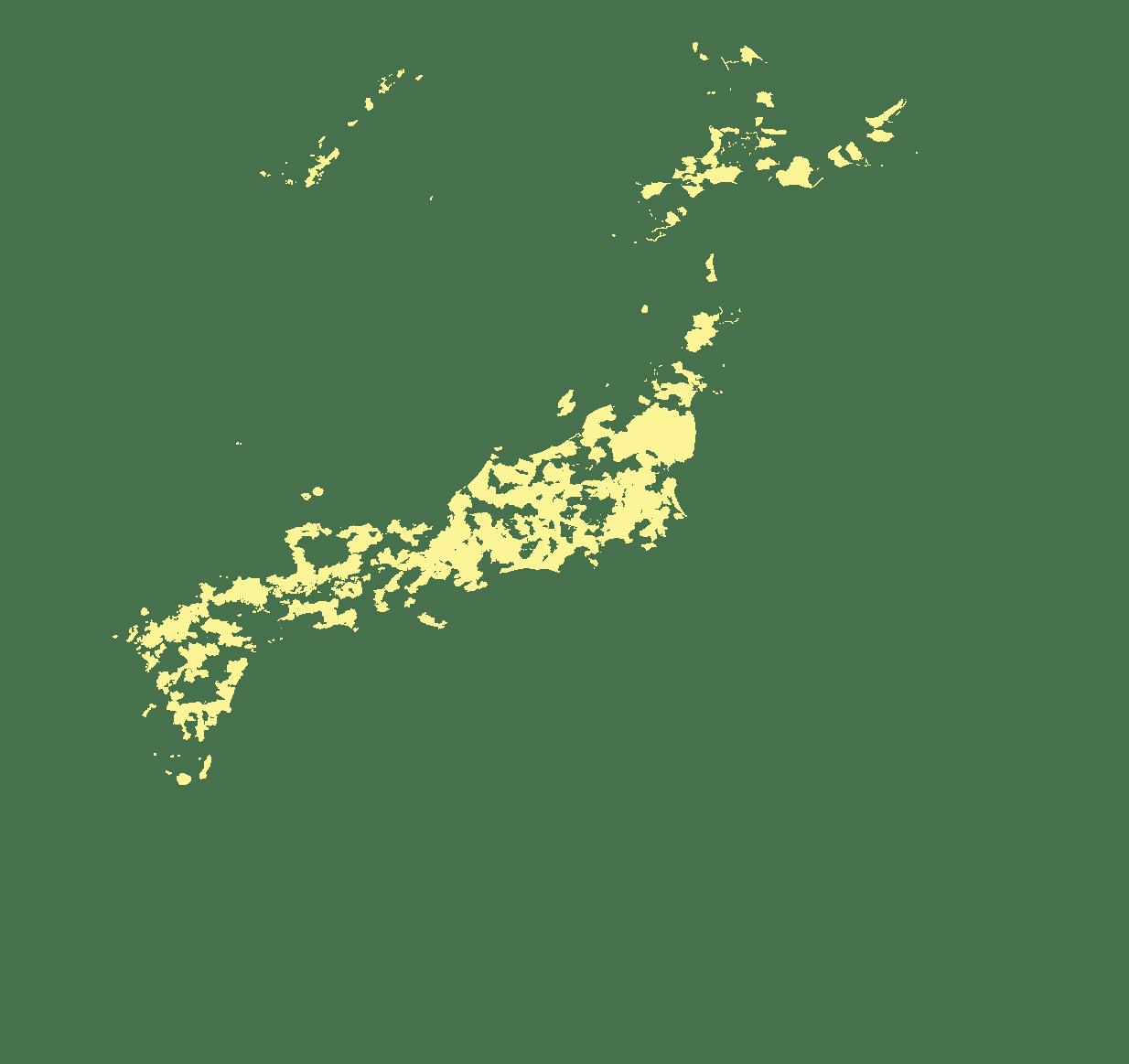 Municipalités moins ou non marquées par cette évolution