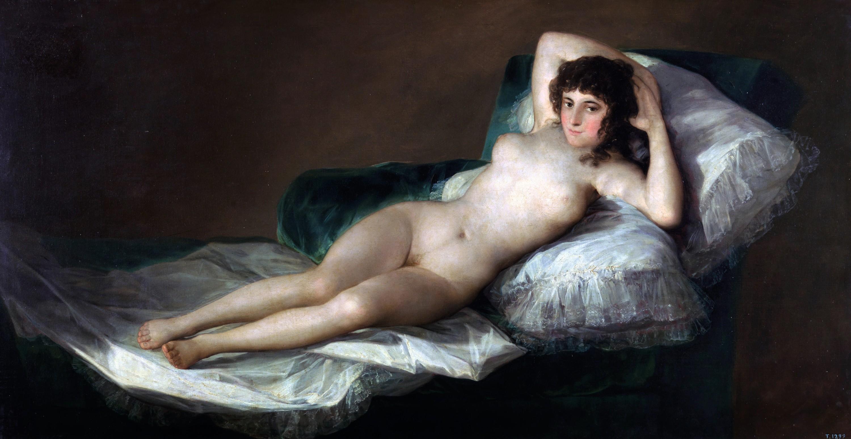 Francisco Goya, La maja desnuda, 1797–1800.