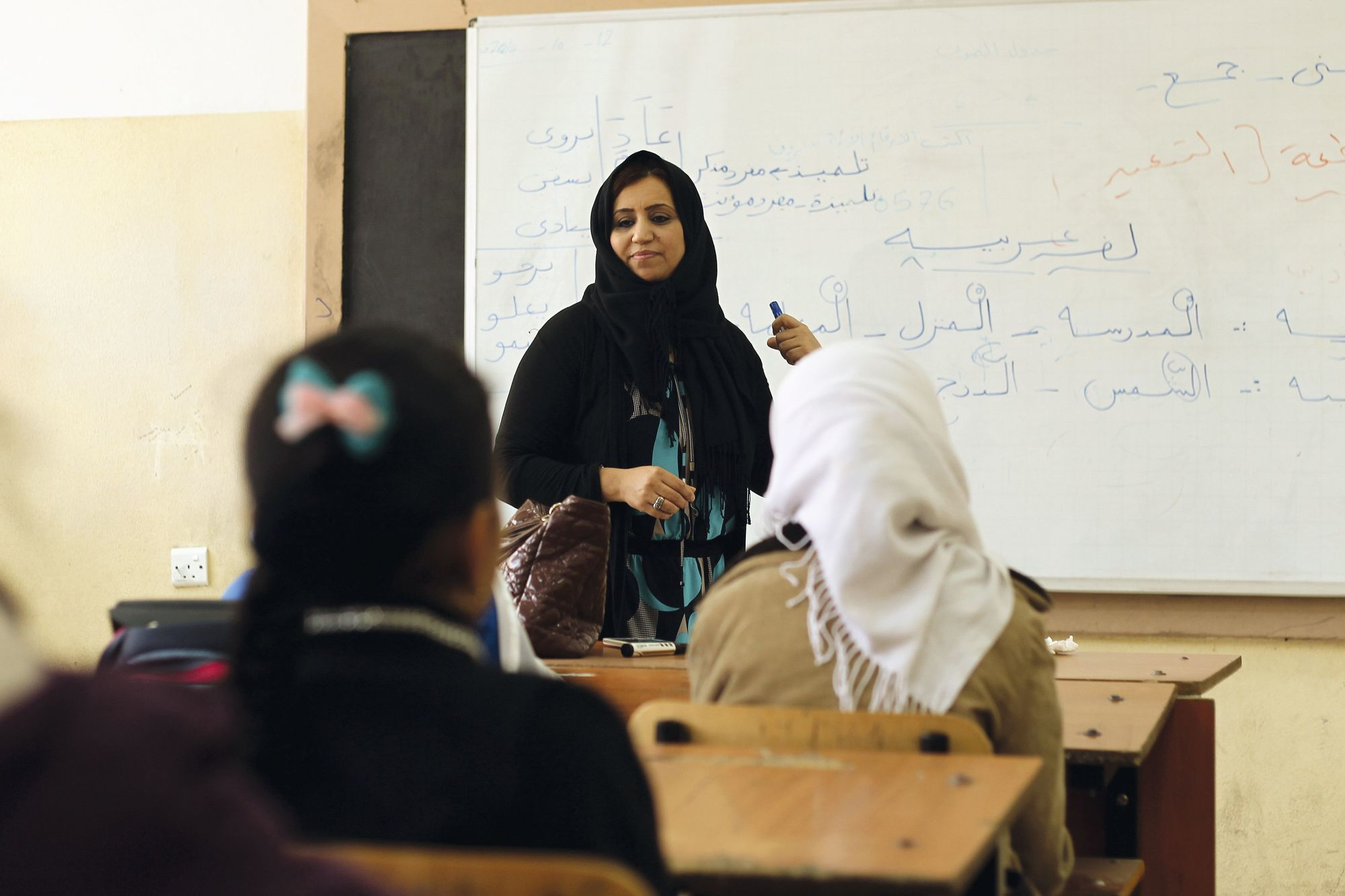 Le retour à l'école dans un pays en conflit