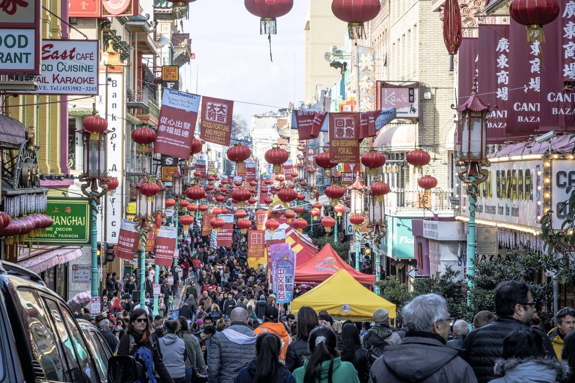 Célébration du nouvel an chinois à San Francisco (2018)