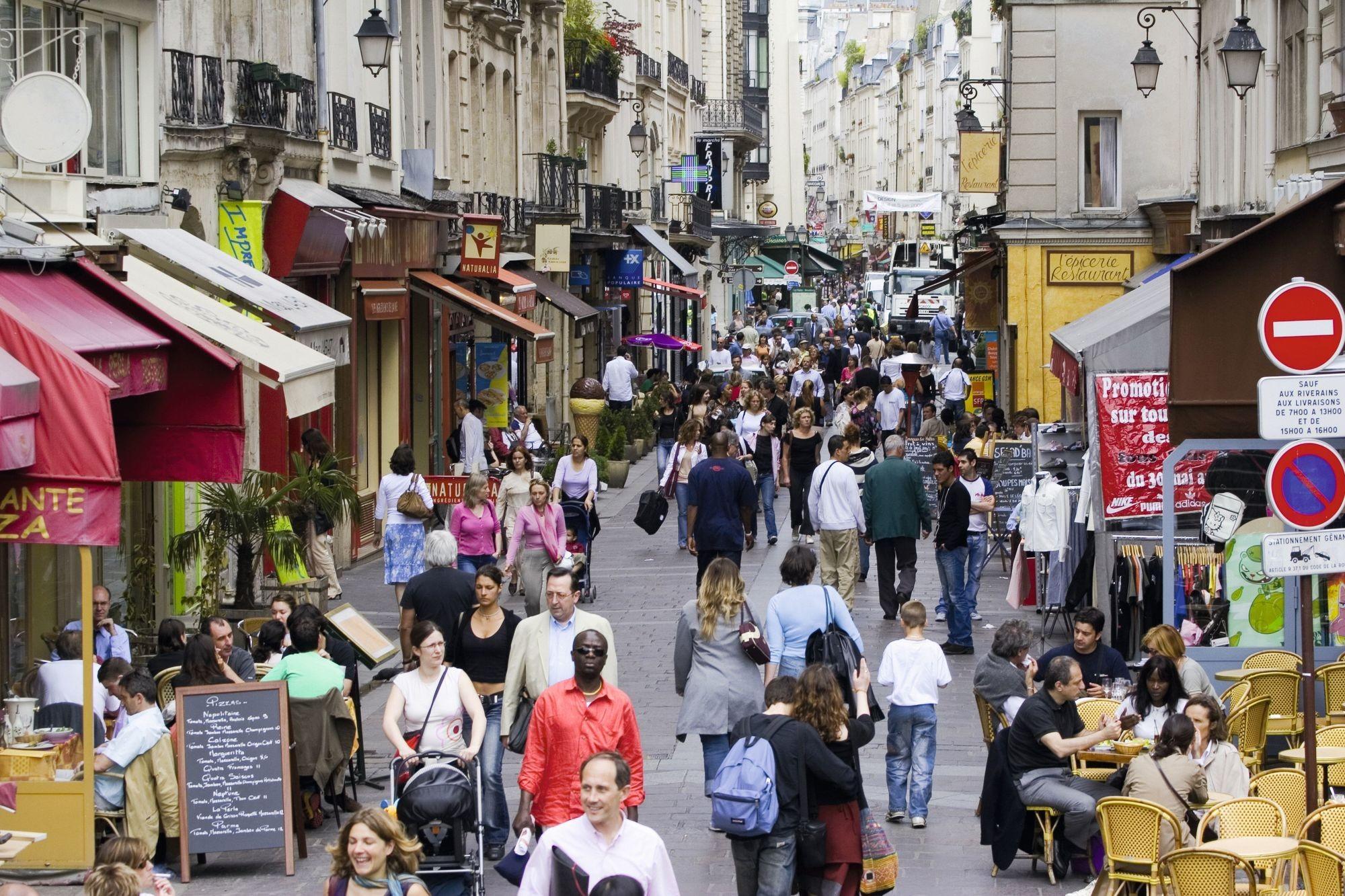 La rue Montorgueil à Paris
