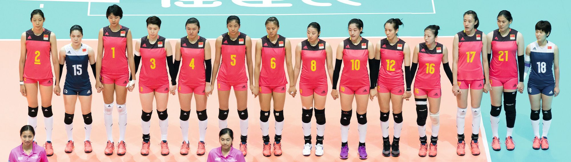 Équipe de Volley Chinoise