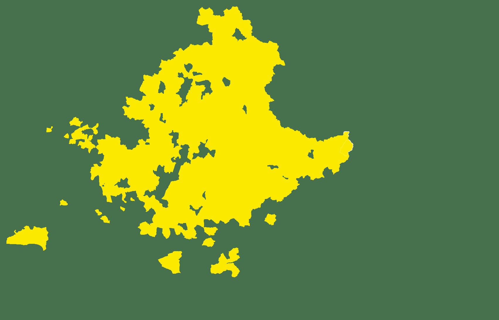 faible densité de population