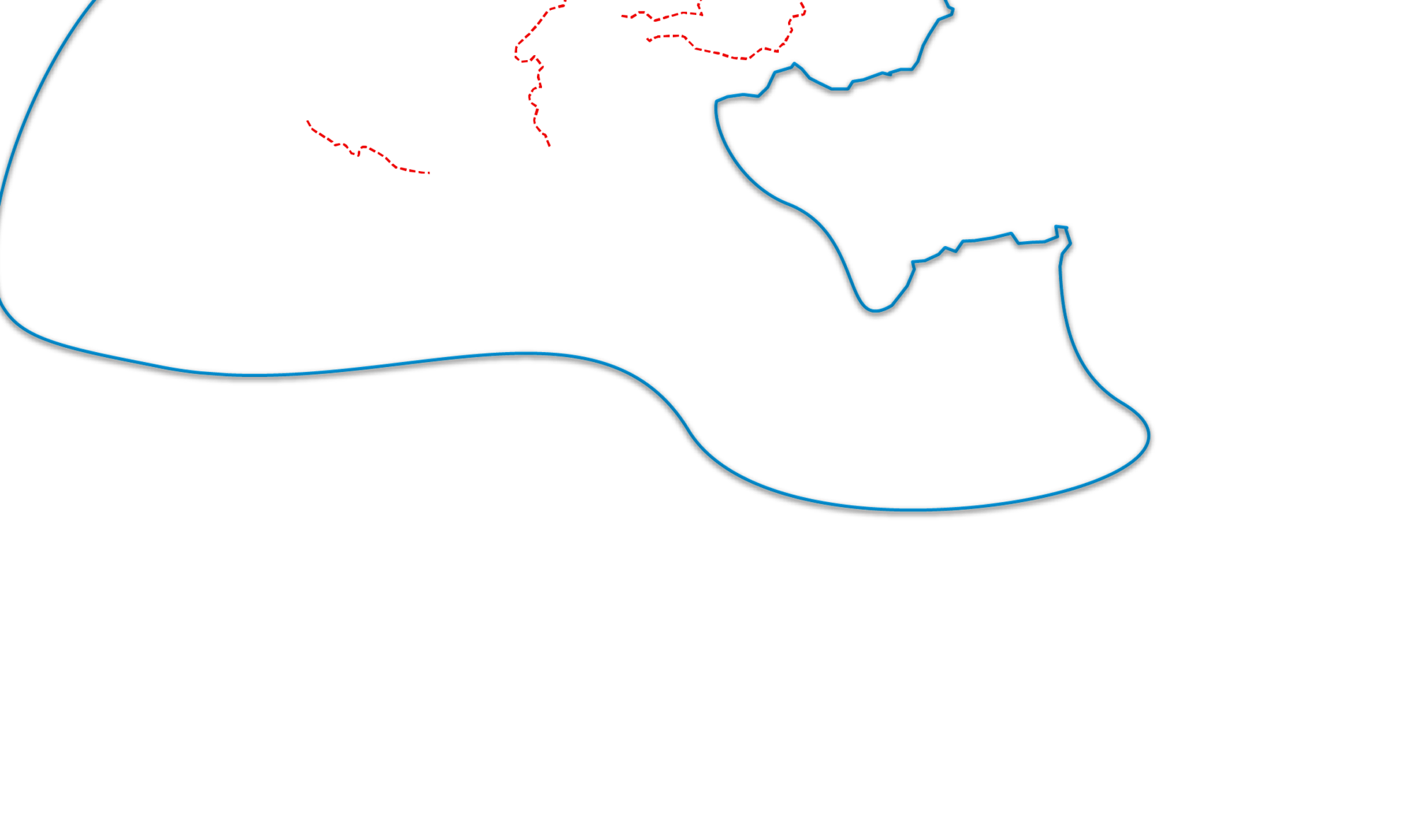 frontières intérieures et extérieures