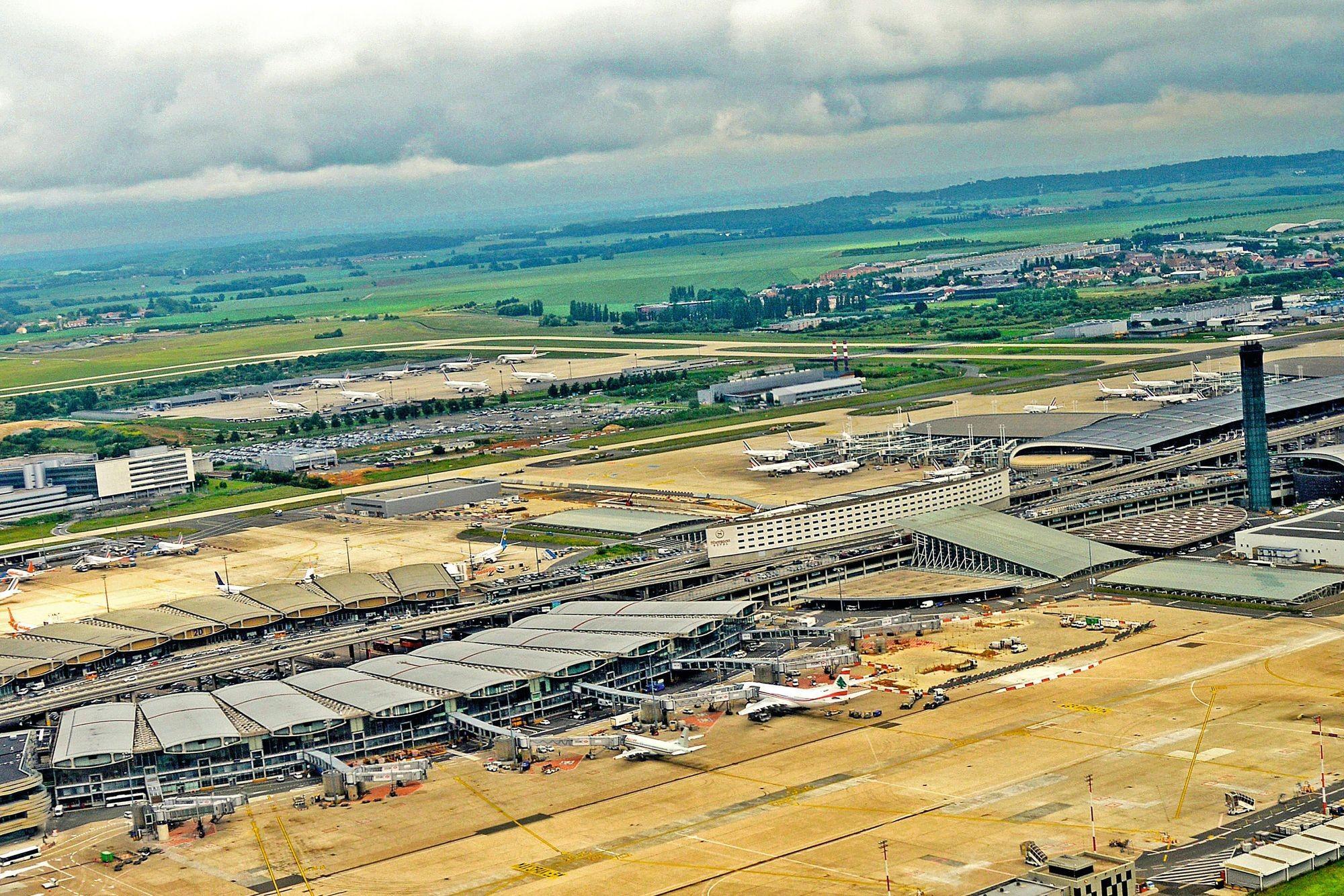 Le terminal 2 de l'aéroport Roissy Charles-de-Gaulle