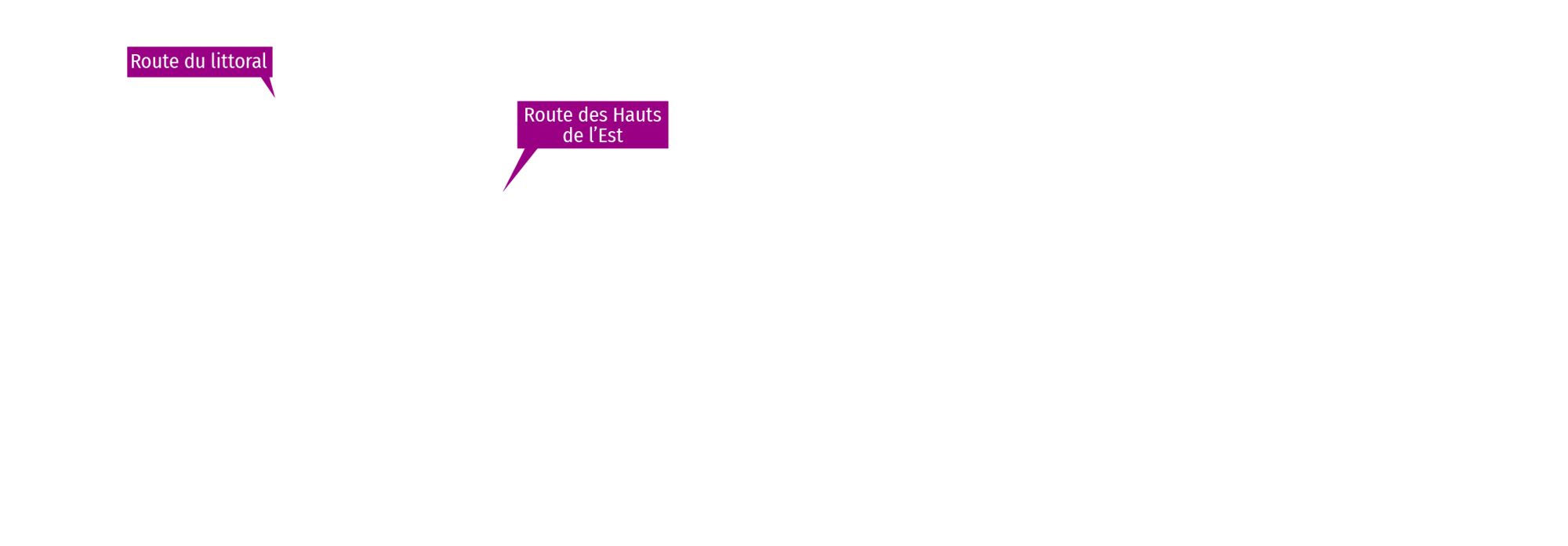projets de connexion routière texte