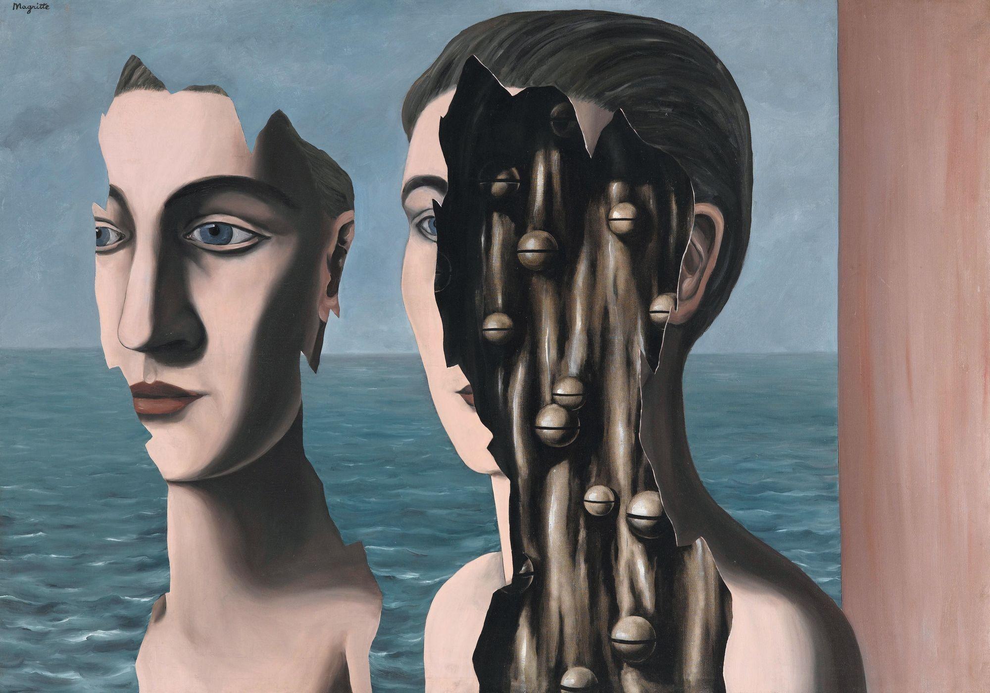 René Magritte Le double secret