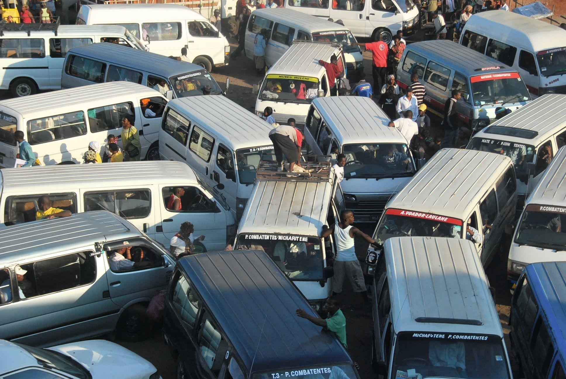 Embouteillages à Maputo
