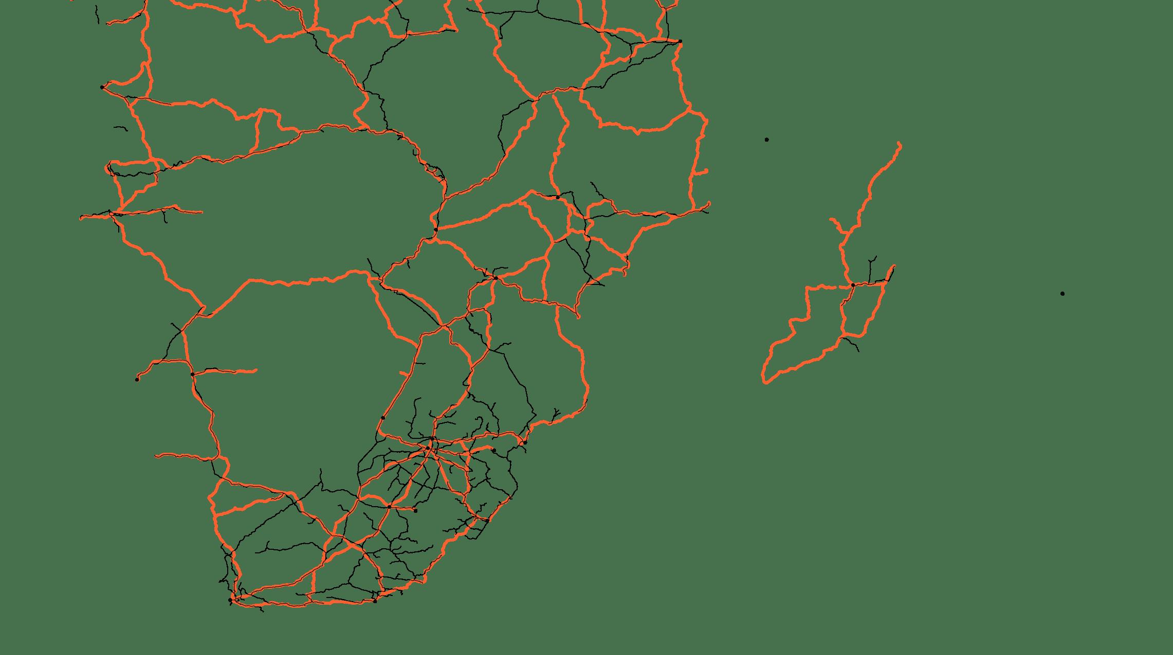 réseaux de transports