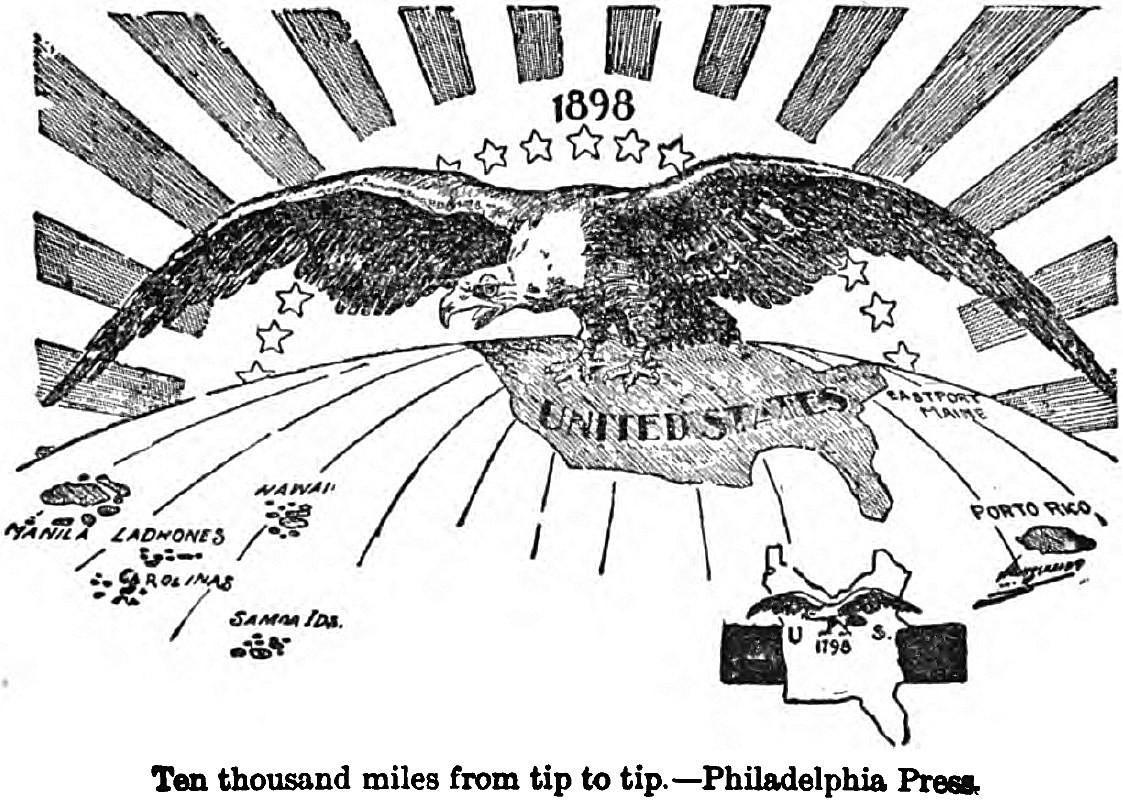 1898, la naissance de l'empire américain