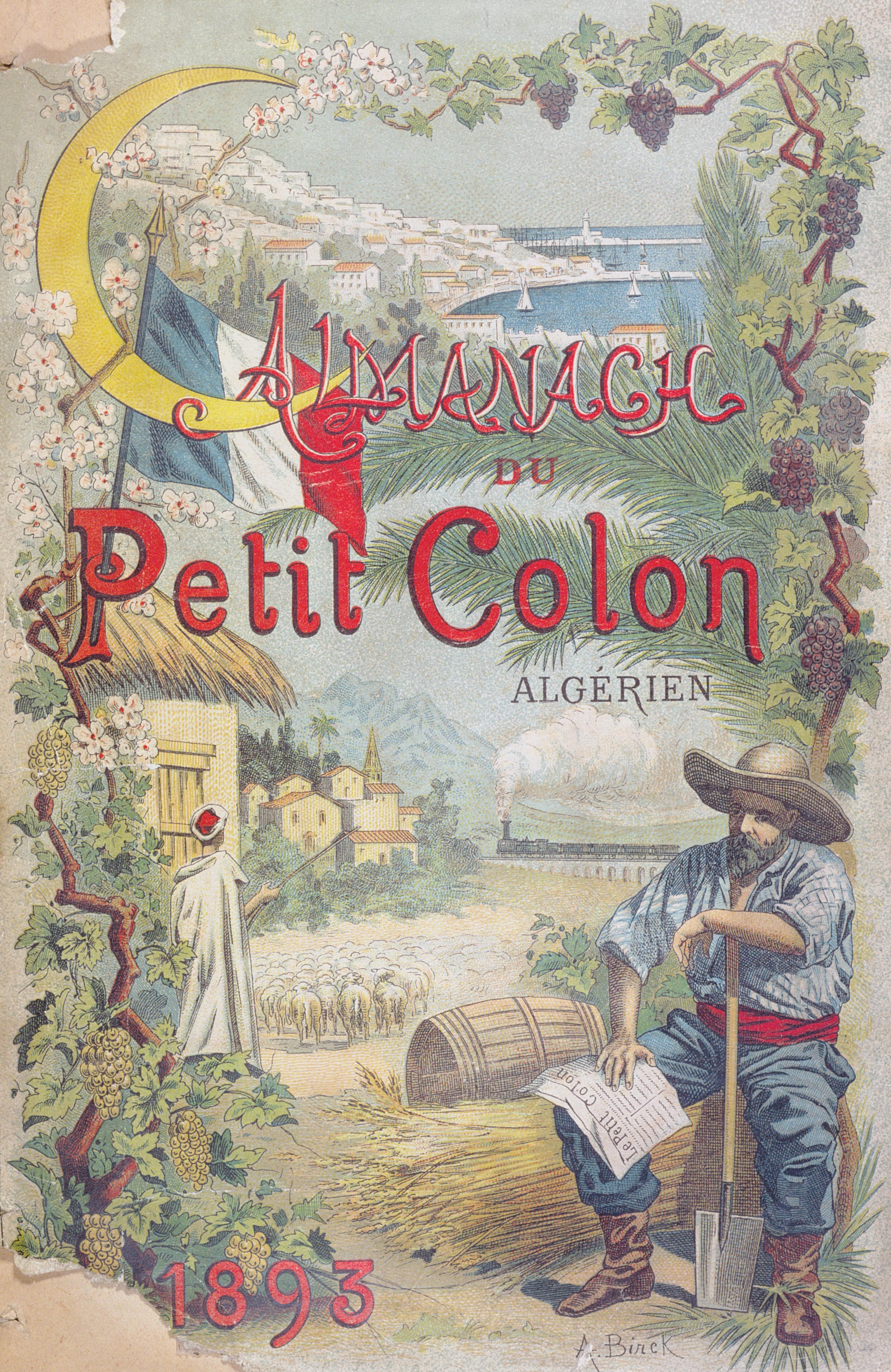 Almanach du Petit Colon Algérien