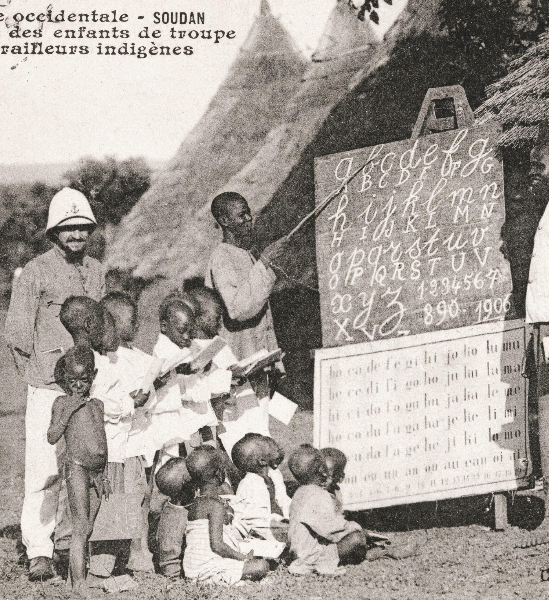 École des enfants des tirailleurs indigènes au Soudan français