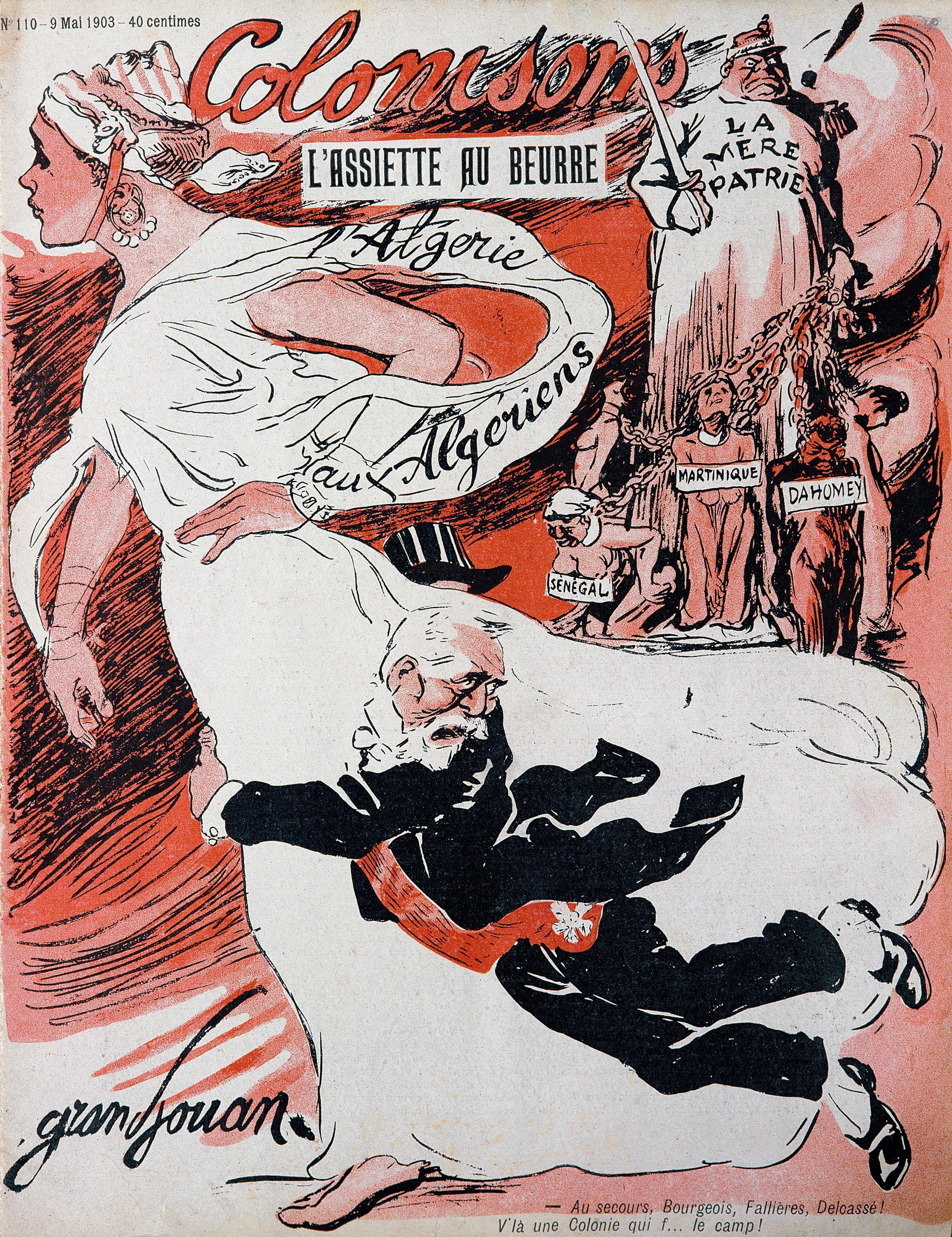 « Colonisons ! », L'Assiette au beurre, n° 110, 9 mai 1903