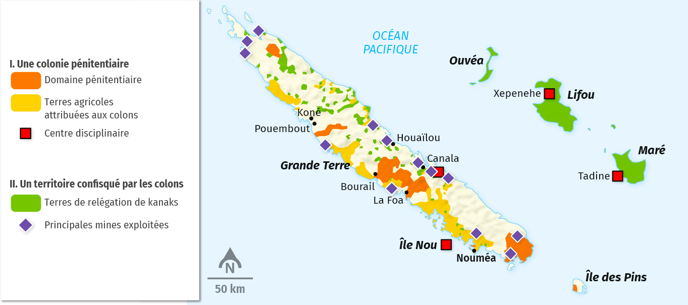 Colonisation et réserves kanakes au début du XXe siècle