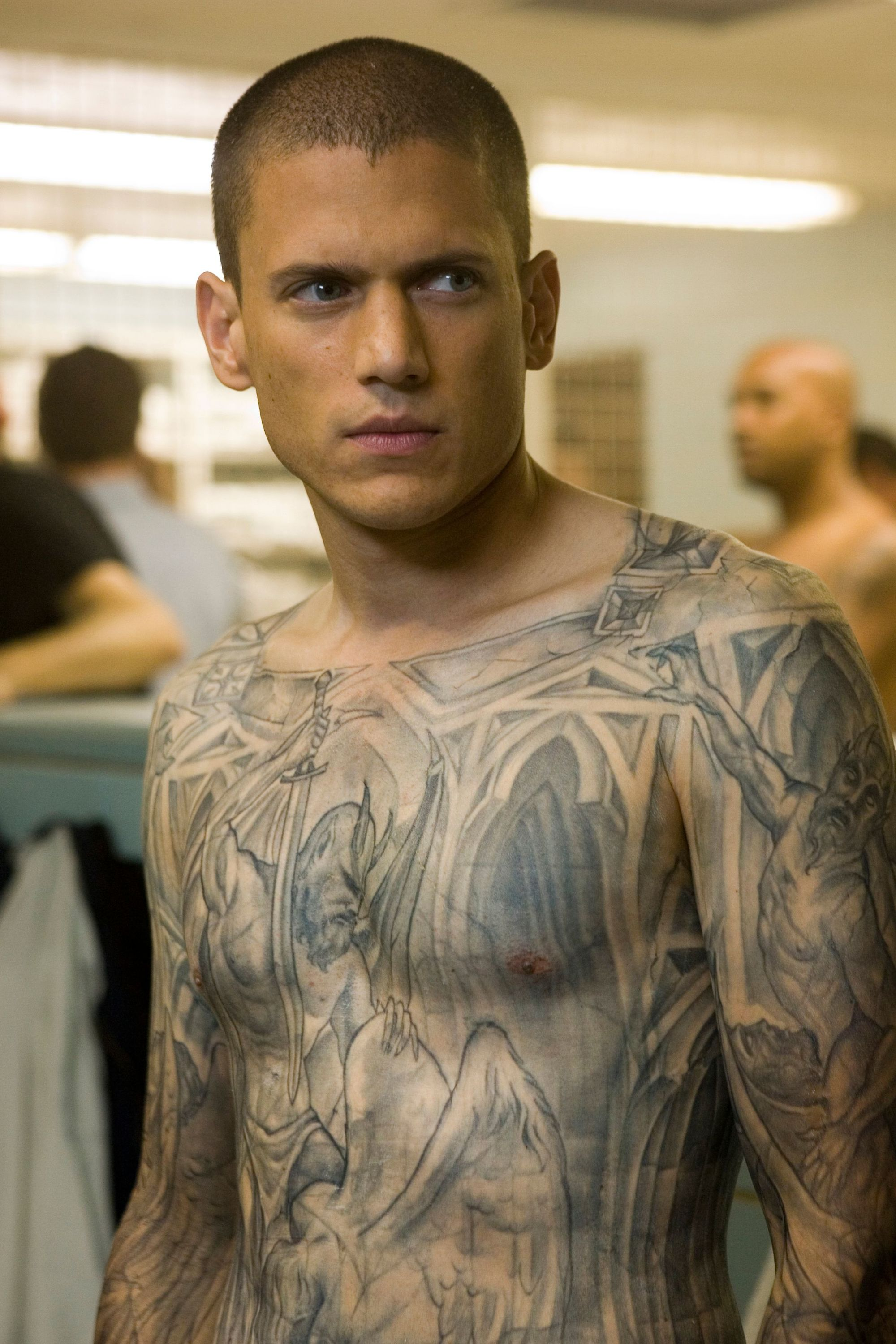 Michael Scofield from the TV show Prison Break.