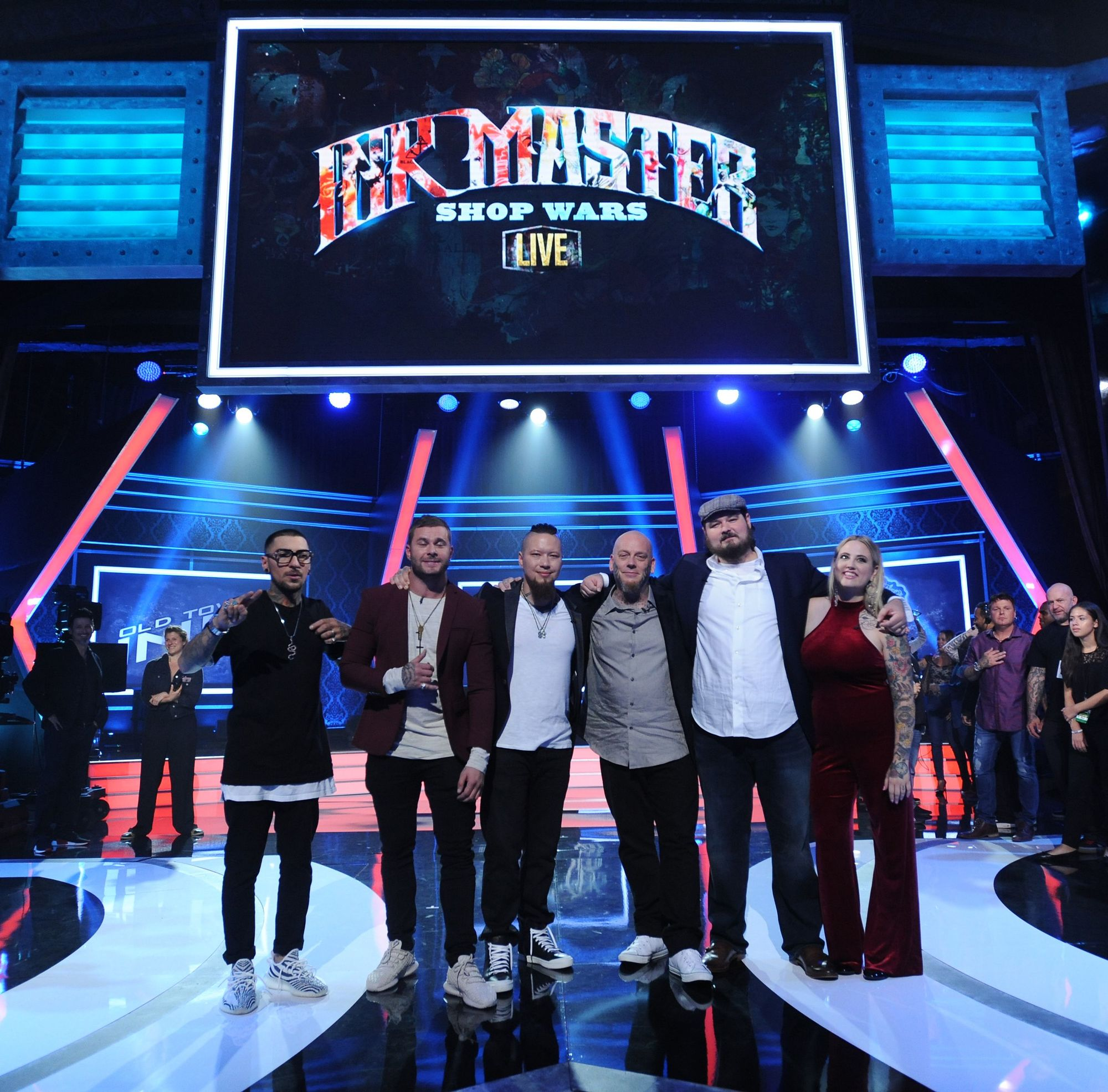 """Ink Master"", TV series, 2012-present."