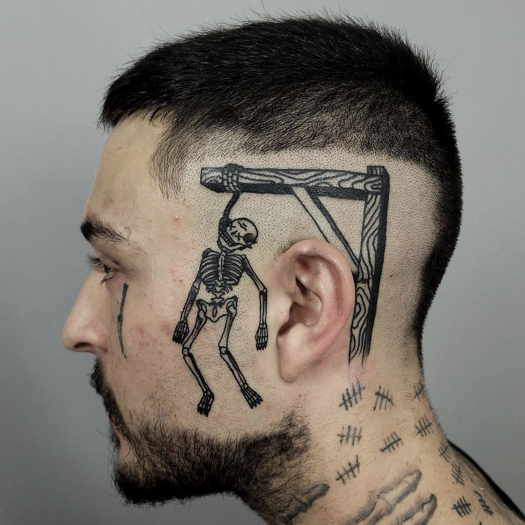 Hangman tatoo