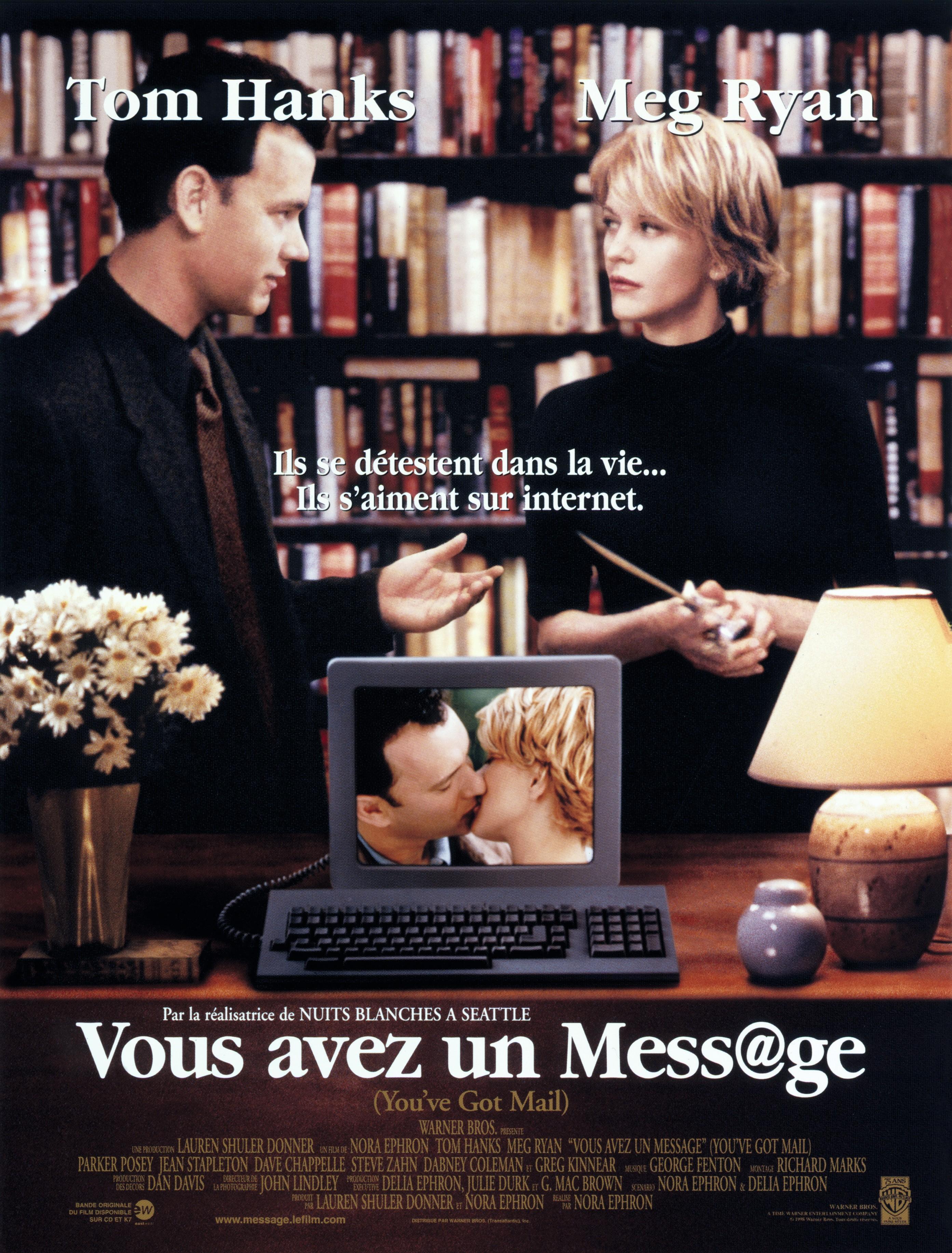 Une comédie romantique de la fin des années quatre-vingt-dix, qui a pour thème les rencontres sur Internet.