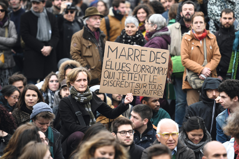 Manifestation à Paris, 19 février 2017.