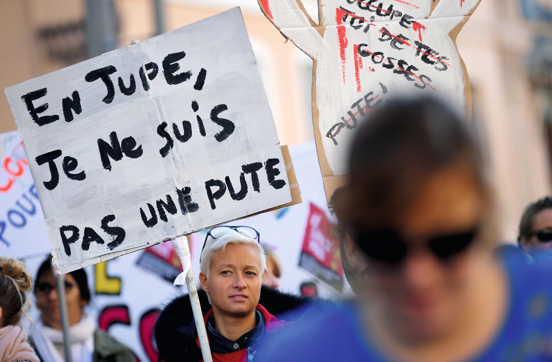 Manifestation à Marseille, le 24 novembre 2018.