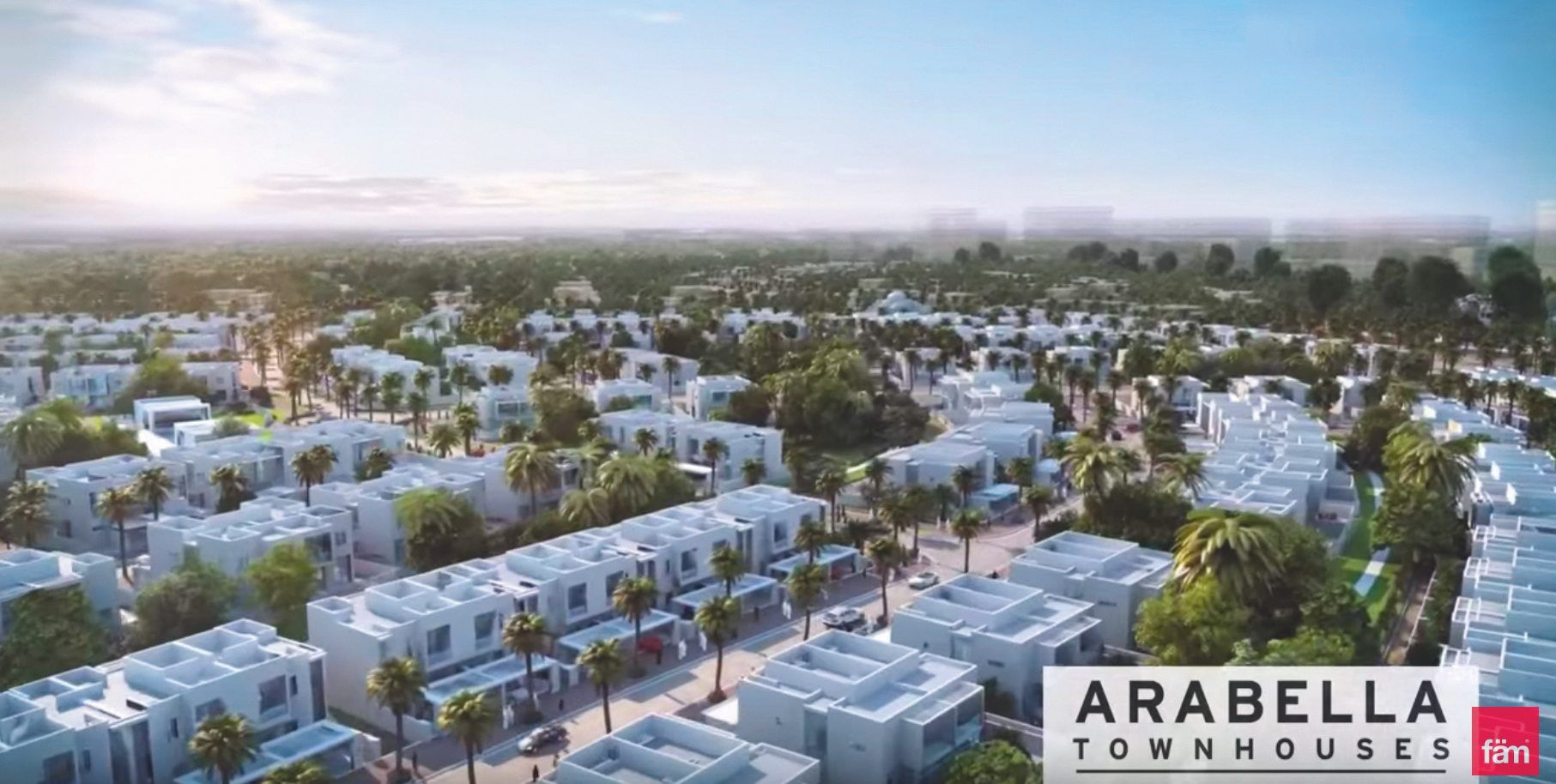 La gated community de Mudon à Dubaï