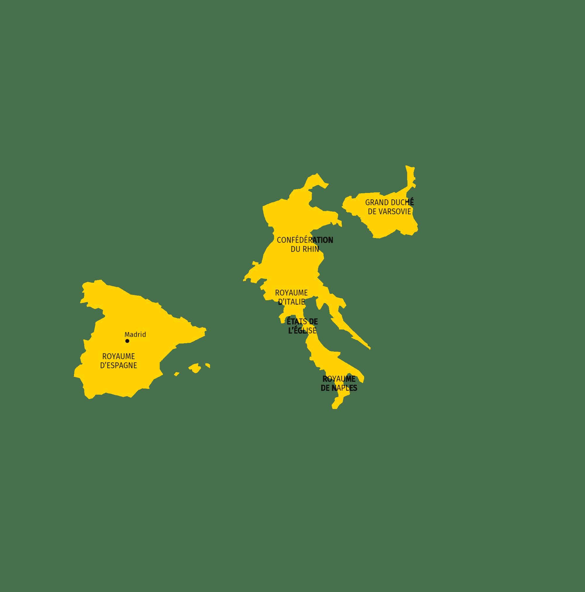 Royaumes Domines Par La France