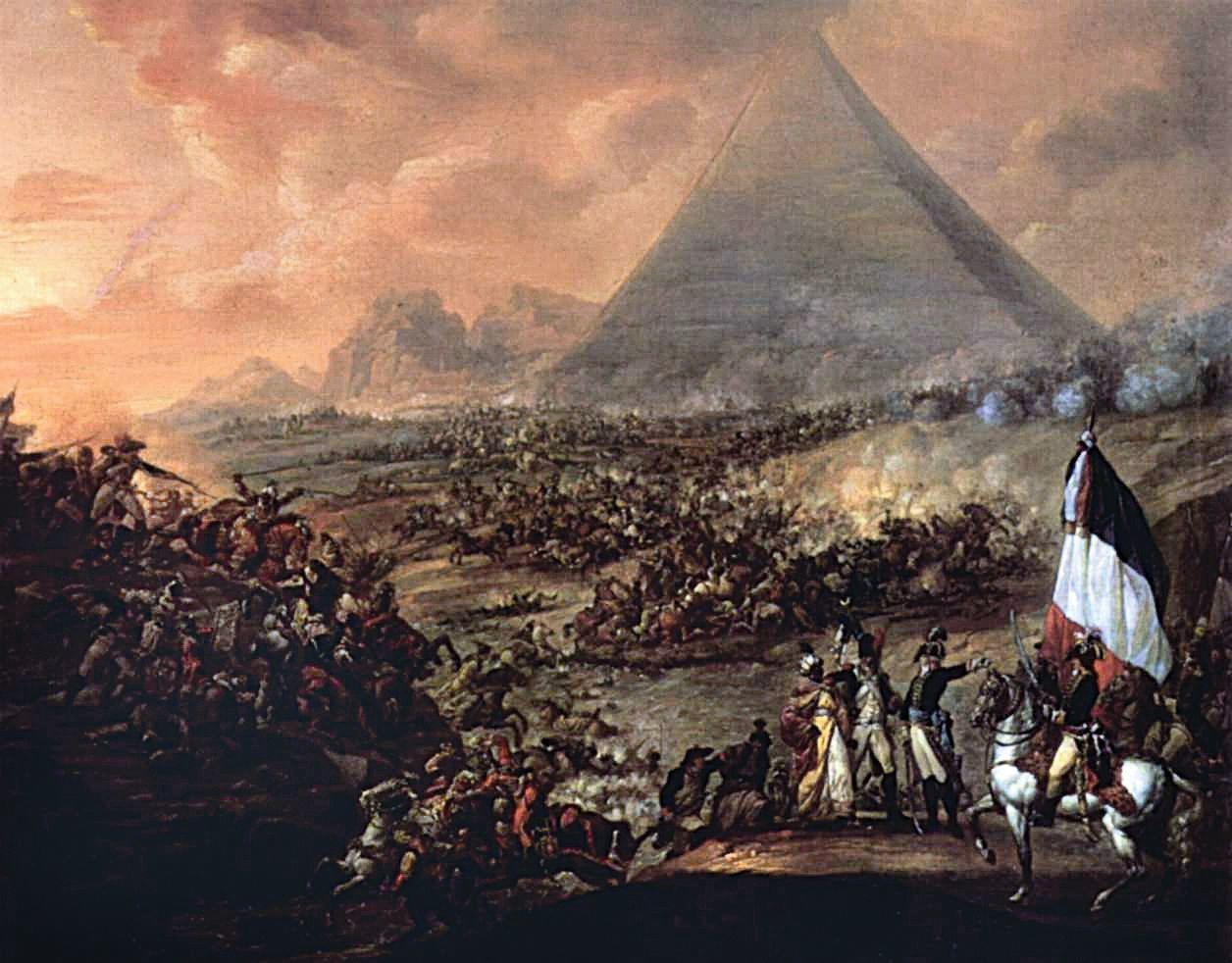 François Watteau, La Bataille des Pyramides
