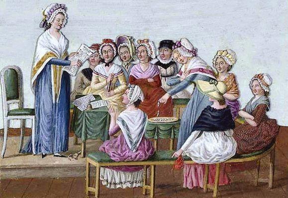 De nombreuses femmes s'engagent dans la Révolution