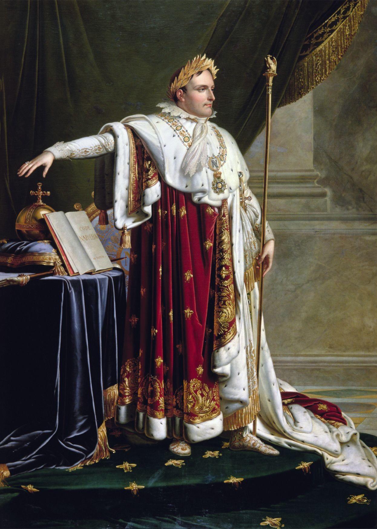Anne-Louis Girodet, Napoléon en costume impérial