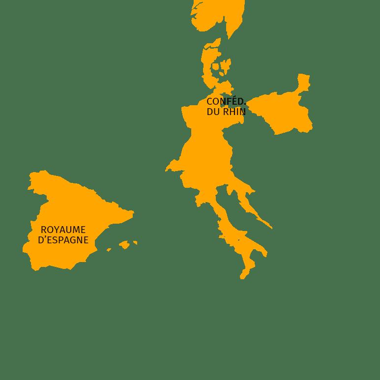 États vassaux de l'Empire