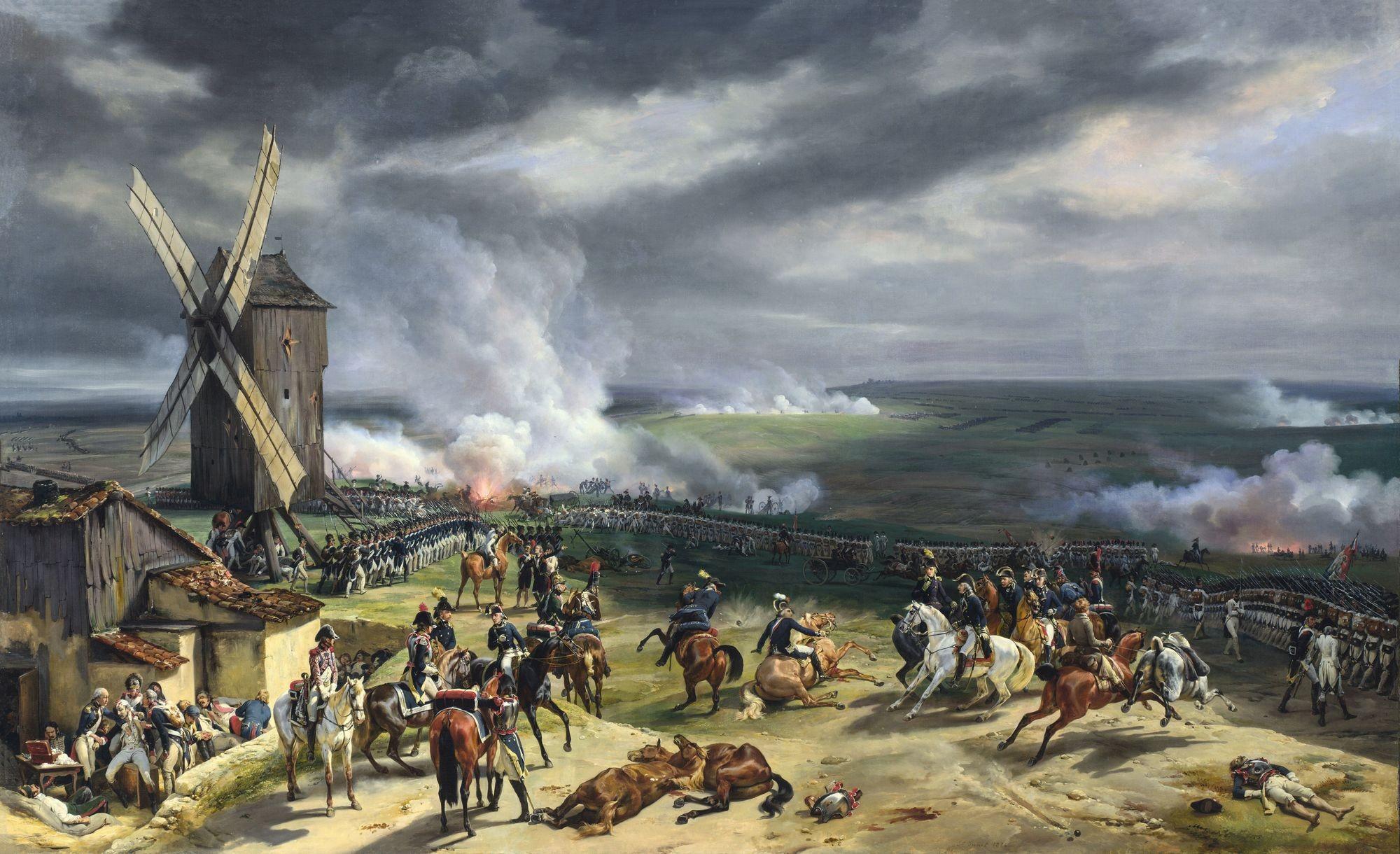Horace Vernet, La Bataille de Valmy