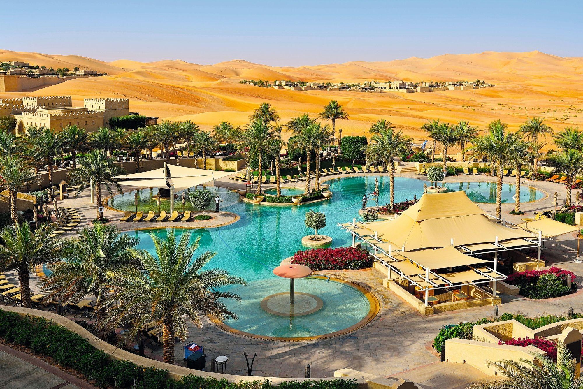 Le Qasr Al Sarab, hôtel de luxe dans l'oasis de Liwa