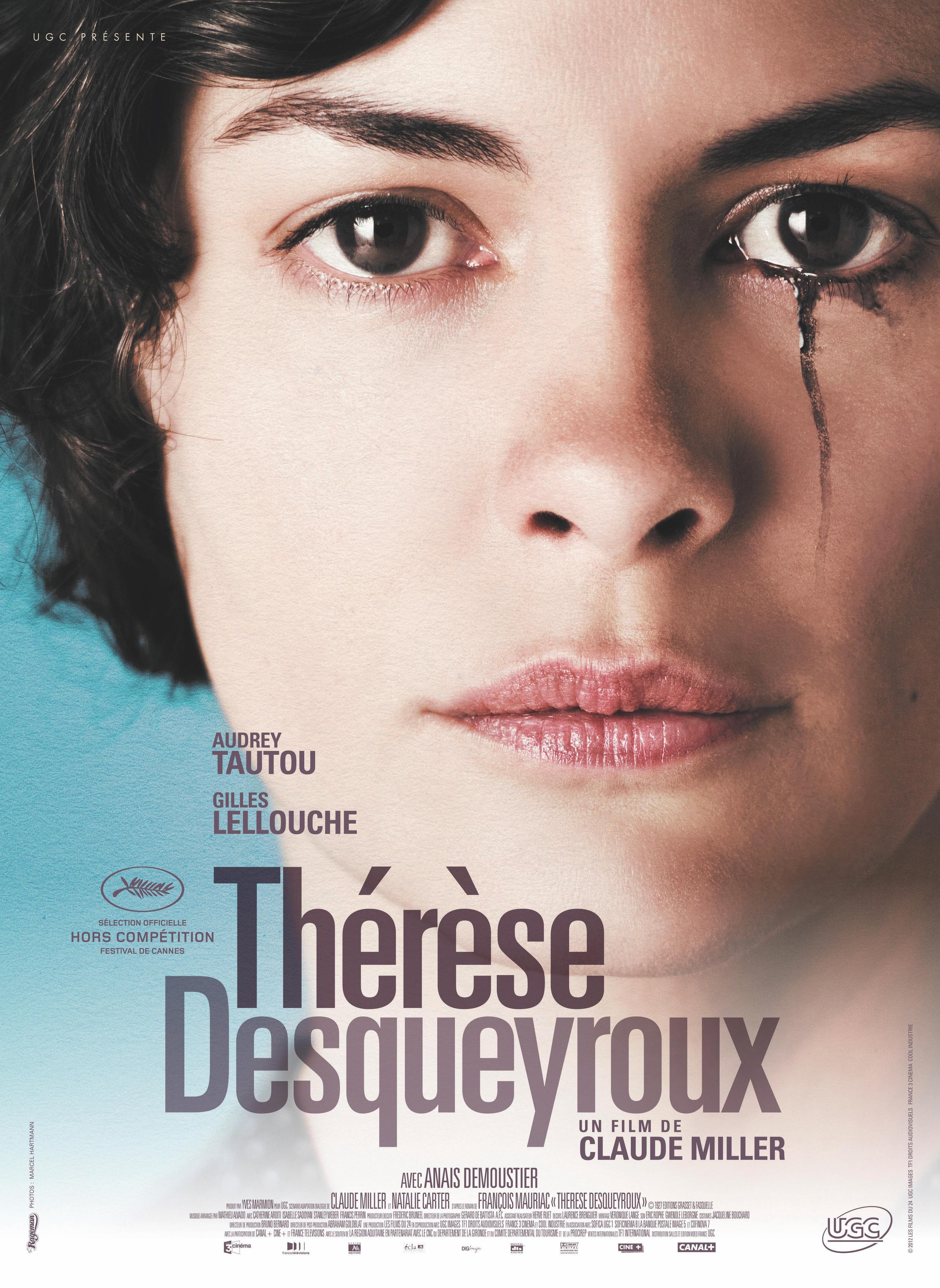 Affiche Claude Miller 2012 Thérèse Desqueyrouxr