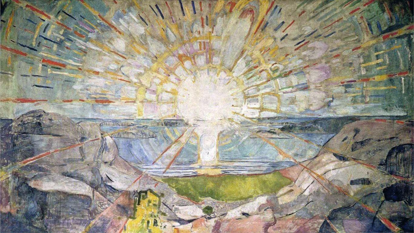 Le Soleil The Sun Edvard Munch