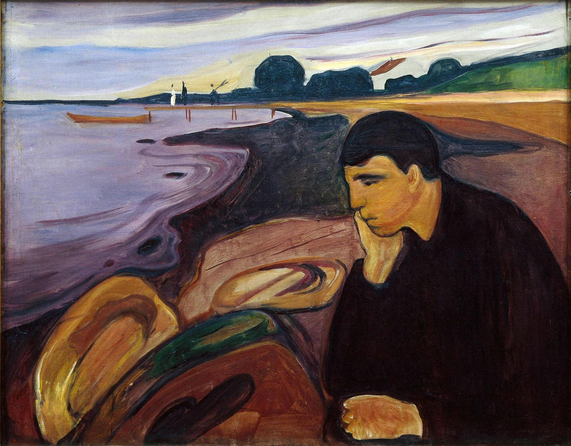 Edvard Munch, Melancholy, 1894-96
