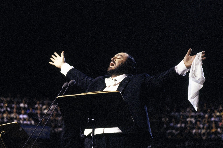 Luciano Pavarotti (1935-2007), chanteur d'opéra