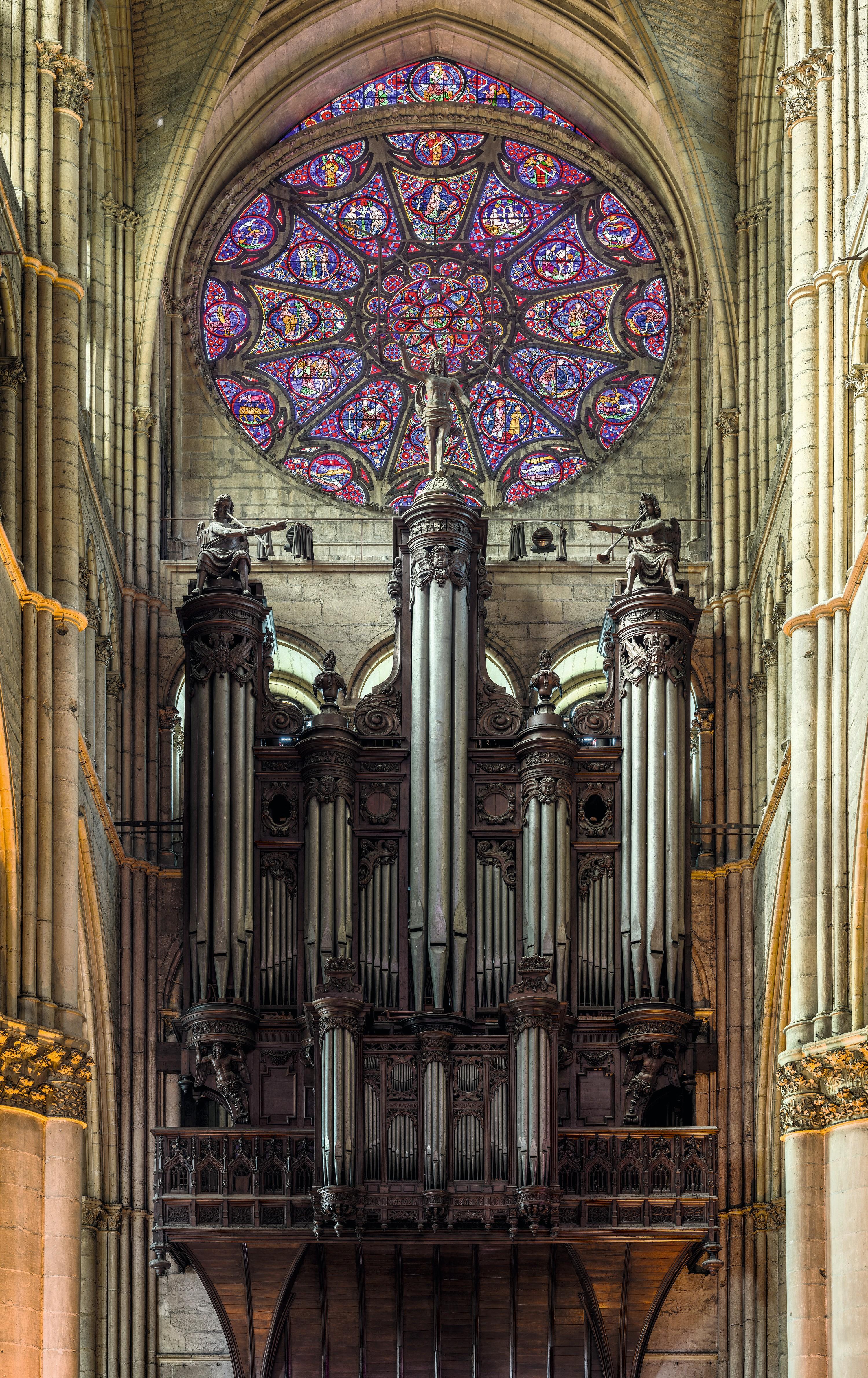 L'orgue de la cathédrale de Reims