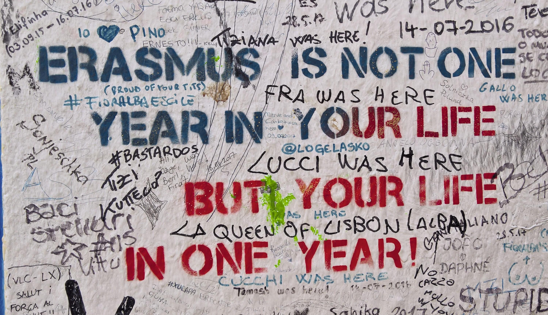 Le programme Erasmus favorise la mobilité internationale des étudiants en Europe, dont il est question dans ce texte.