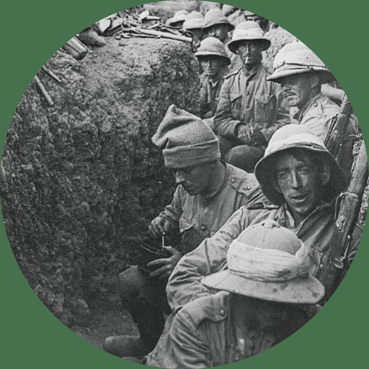 Norman Edwards, soldats 1914-1918