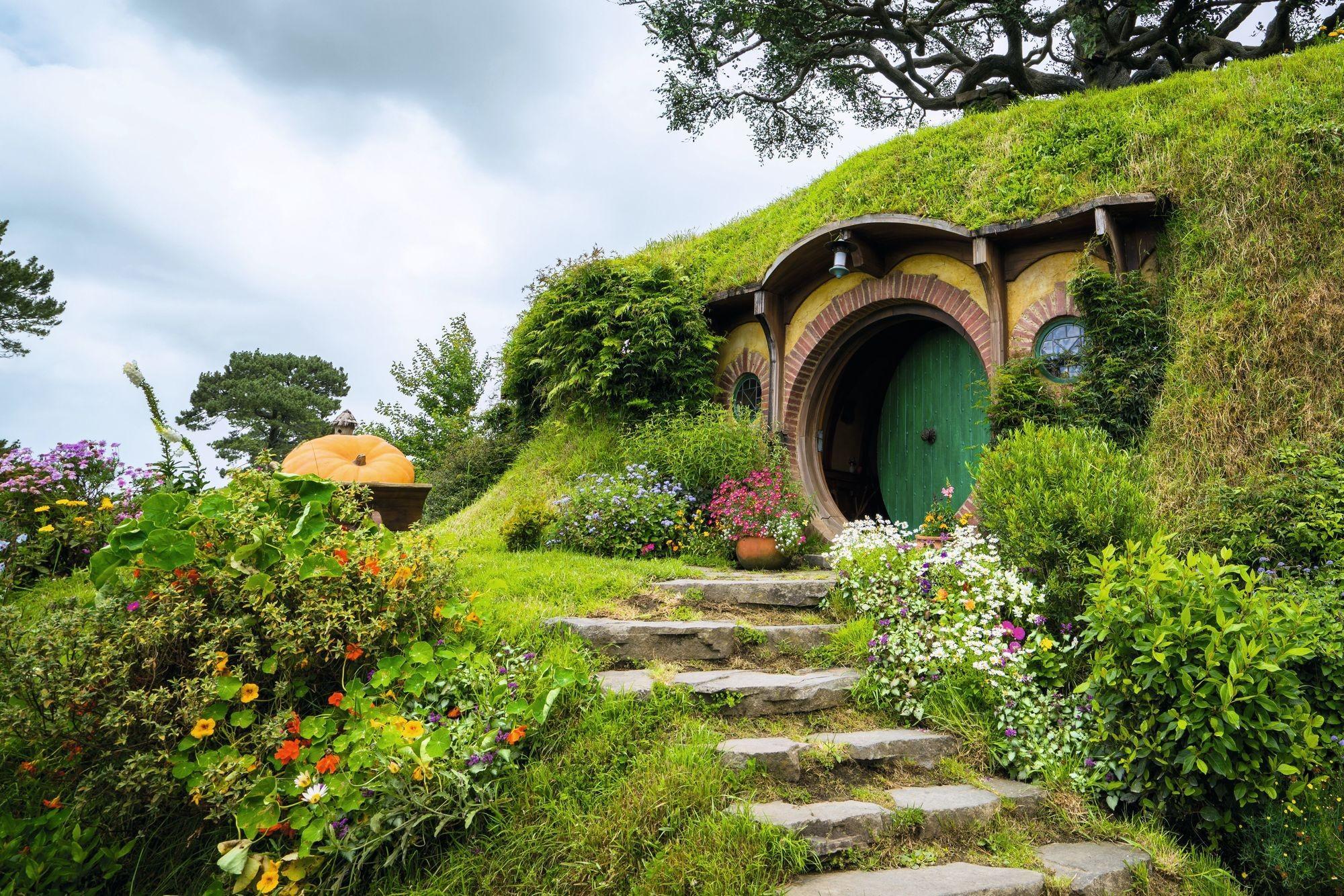 le village du hobbit en Nouvelle-Zélande