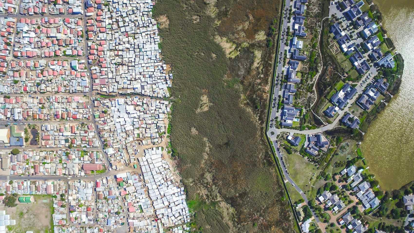 Une ségrégation urbaine issue de l'Apartheid
