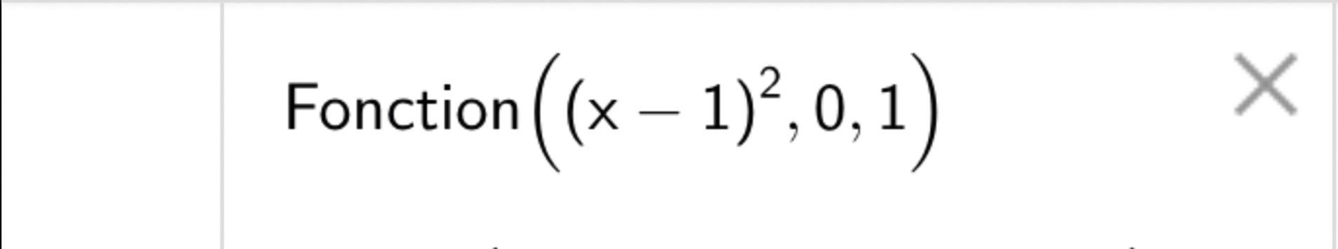 Mesurer la longueur d'une courbe