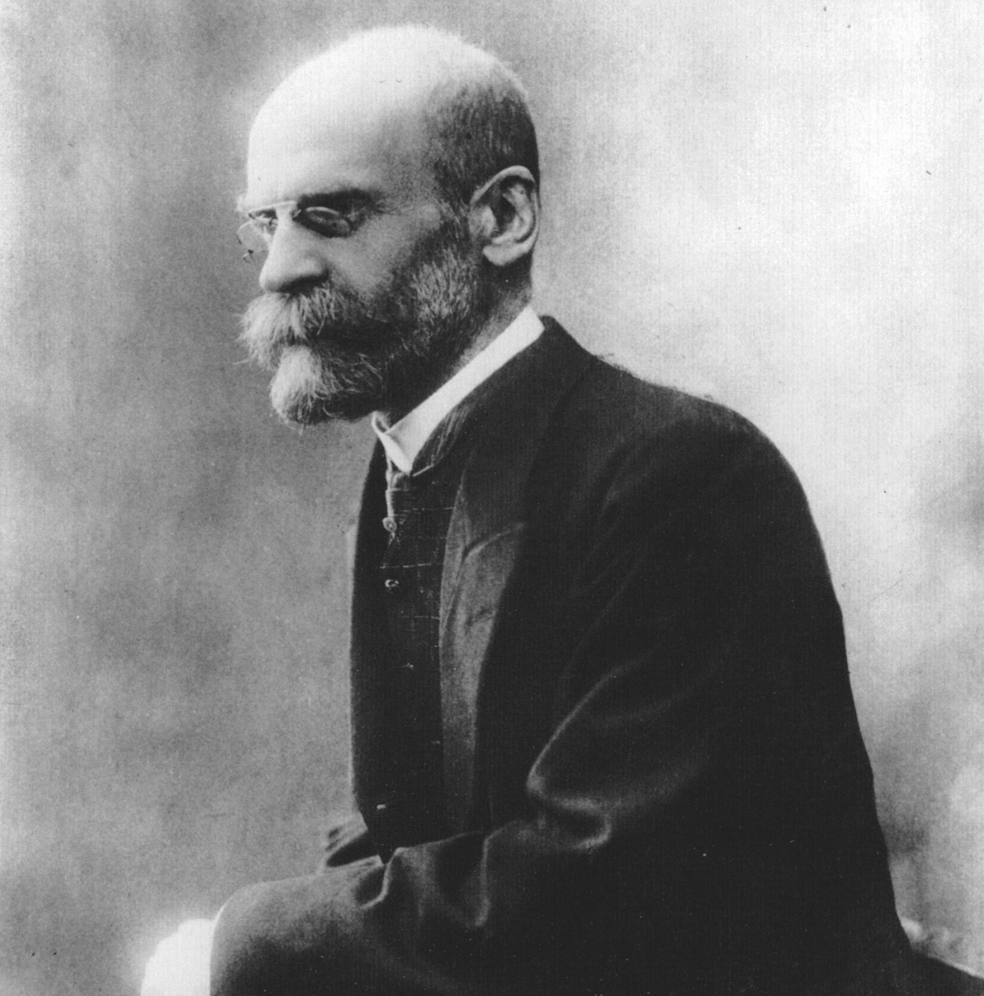 Photo portrait Émile Durkheim