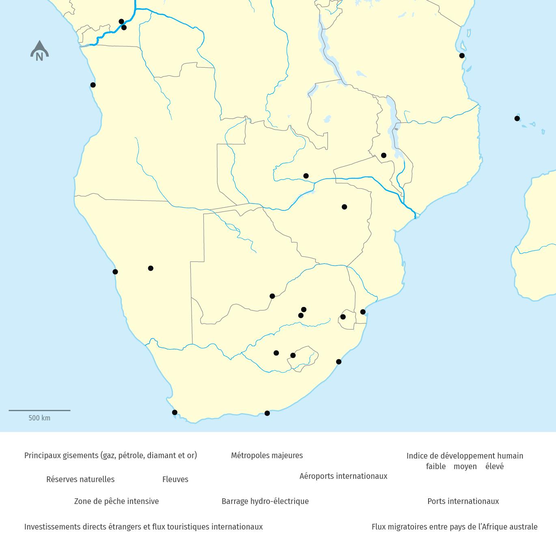 L' Afrique australe : une région en transition