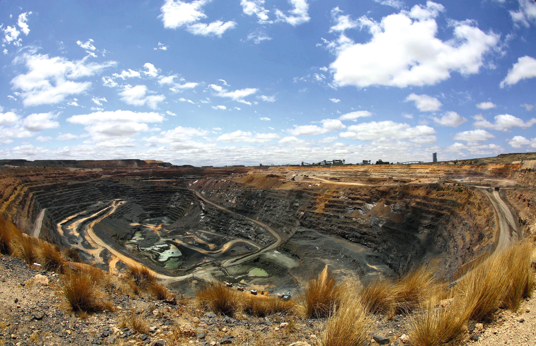 La mine de diamants de Jwaneng au Botswana