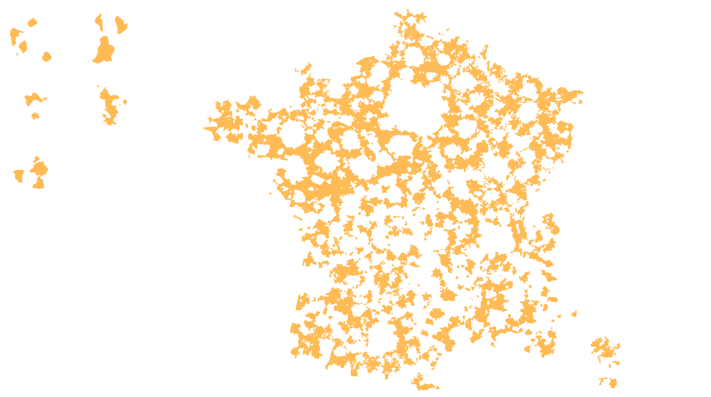 Moyennes et petites aires urbaines