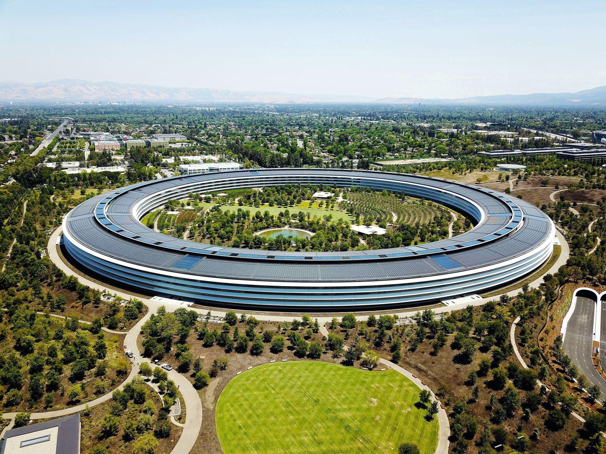 Le nouveau siège d'Apple